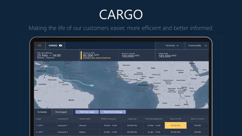 Photo: CARGO – Optimizing cargo flow from planning to delivery