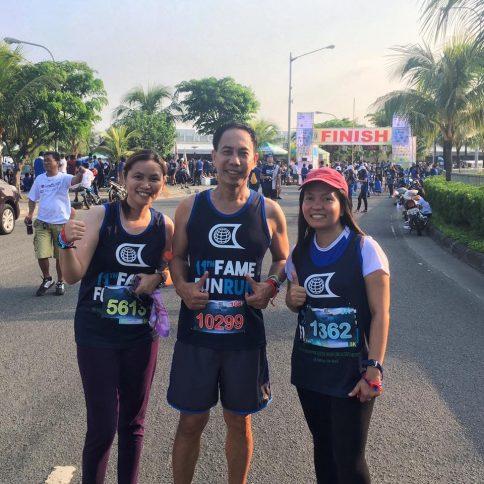 Photo: From left: Charmaine Sarmiento, Alex Ricohermoso and Benalyn De Jesus Credit: Klaveness