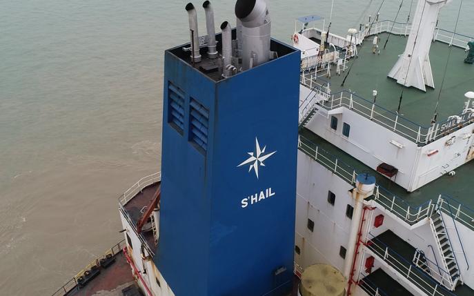 Photo: Shail vessel Credit: Shail Shipping