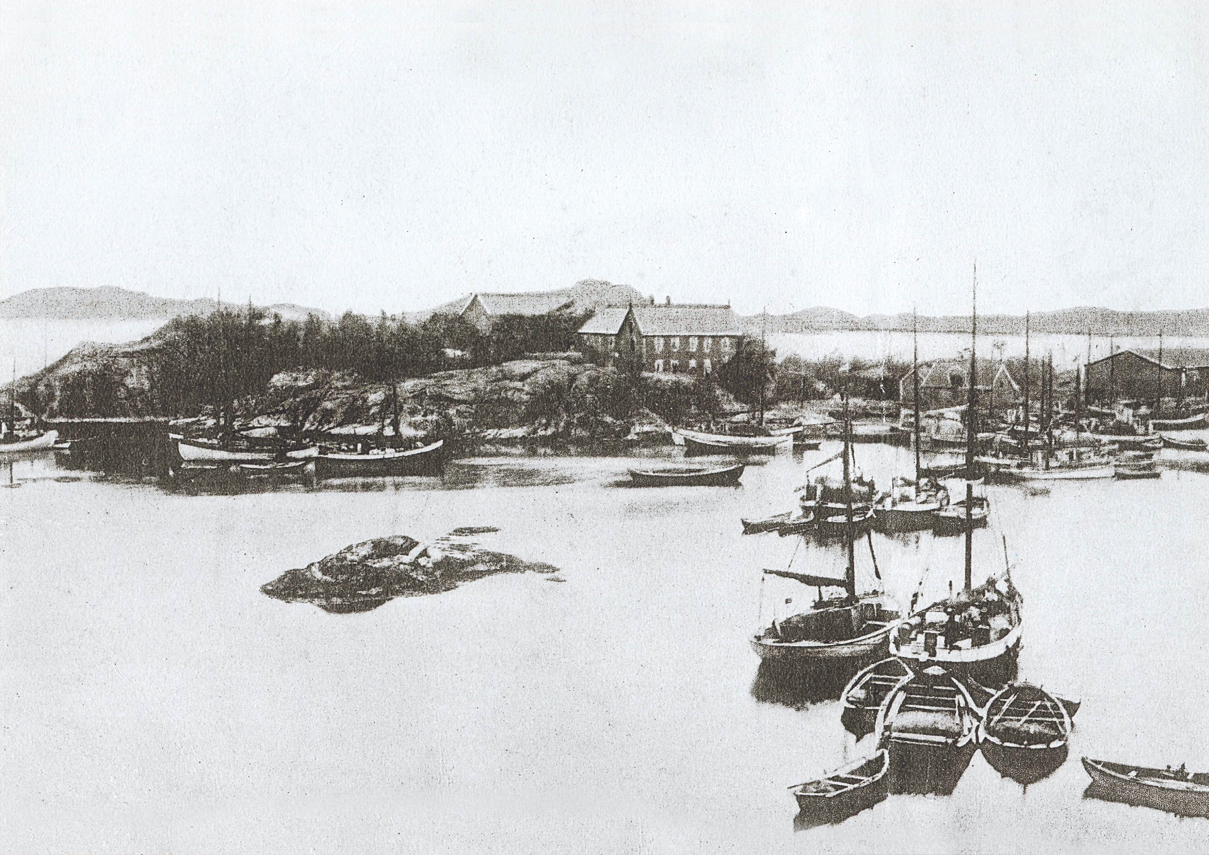 Skjerjehamn var en av de største havnene på vestlandet på begynnelsen av 1900-tallet