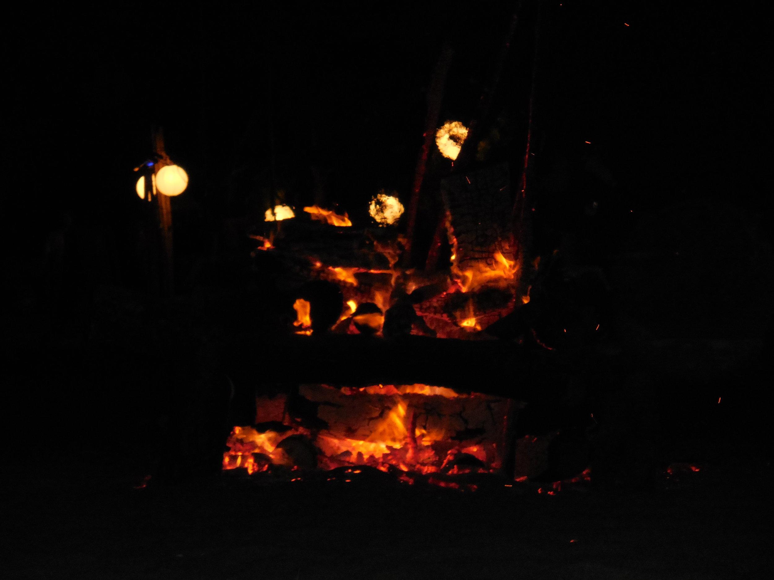 bonfire Tamarindo