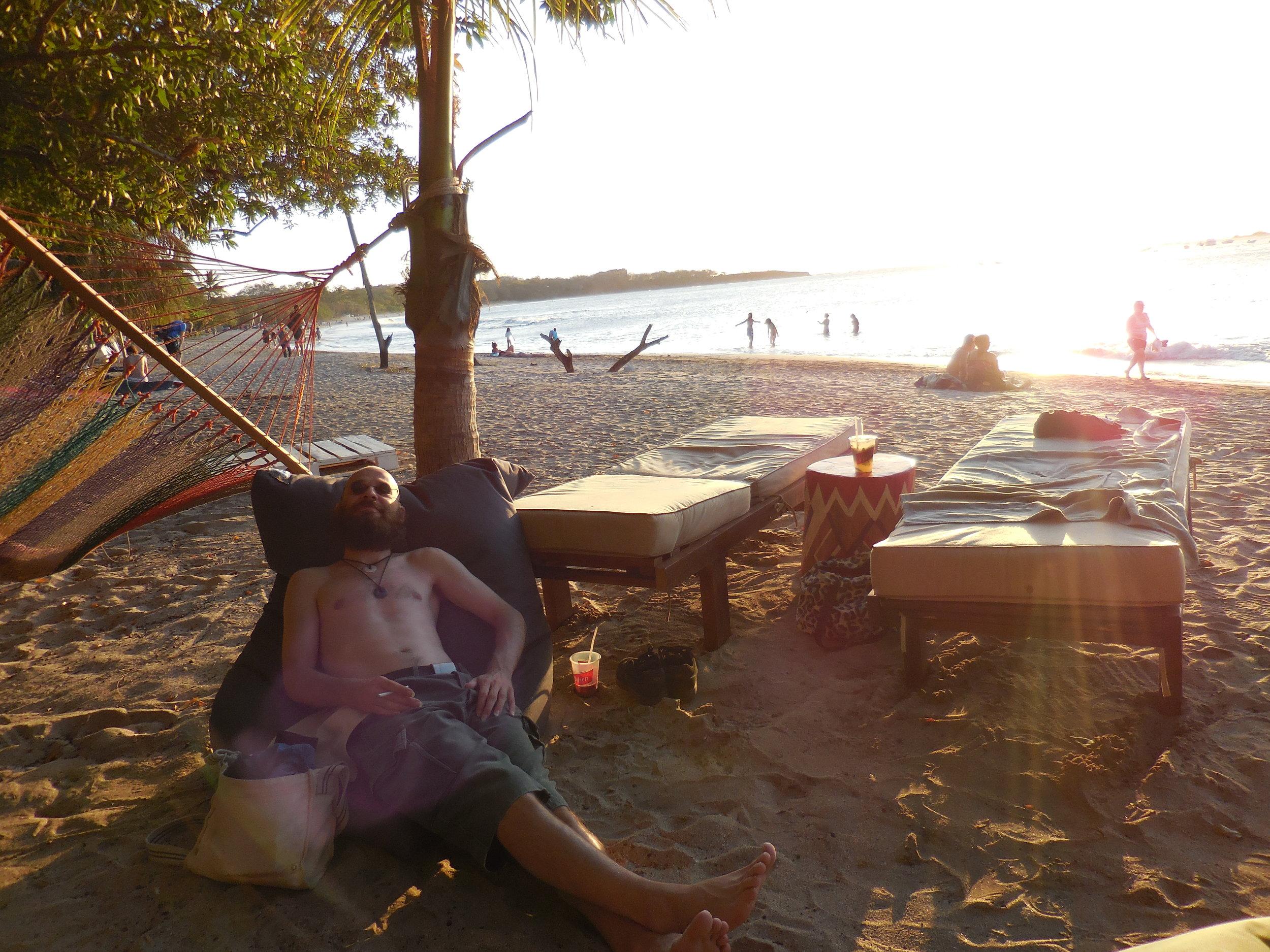Beach at El Be Club - Tamarindo