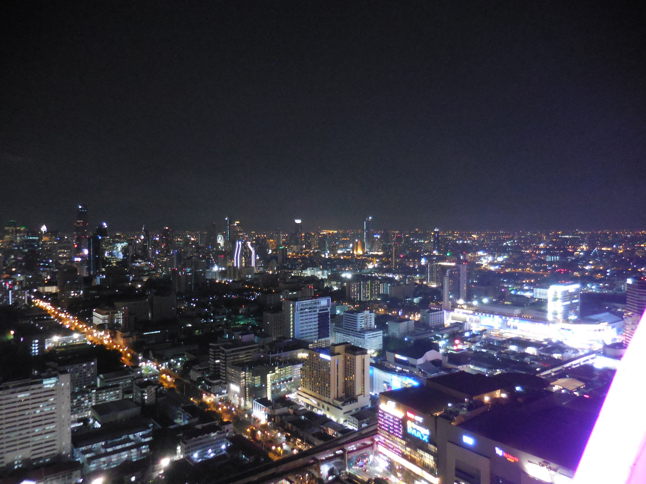 Bangkok Night Skyline