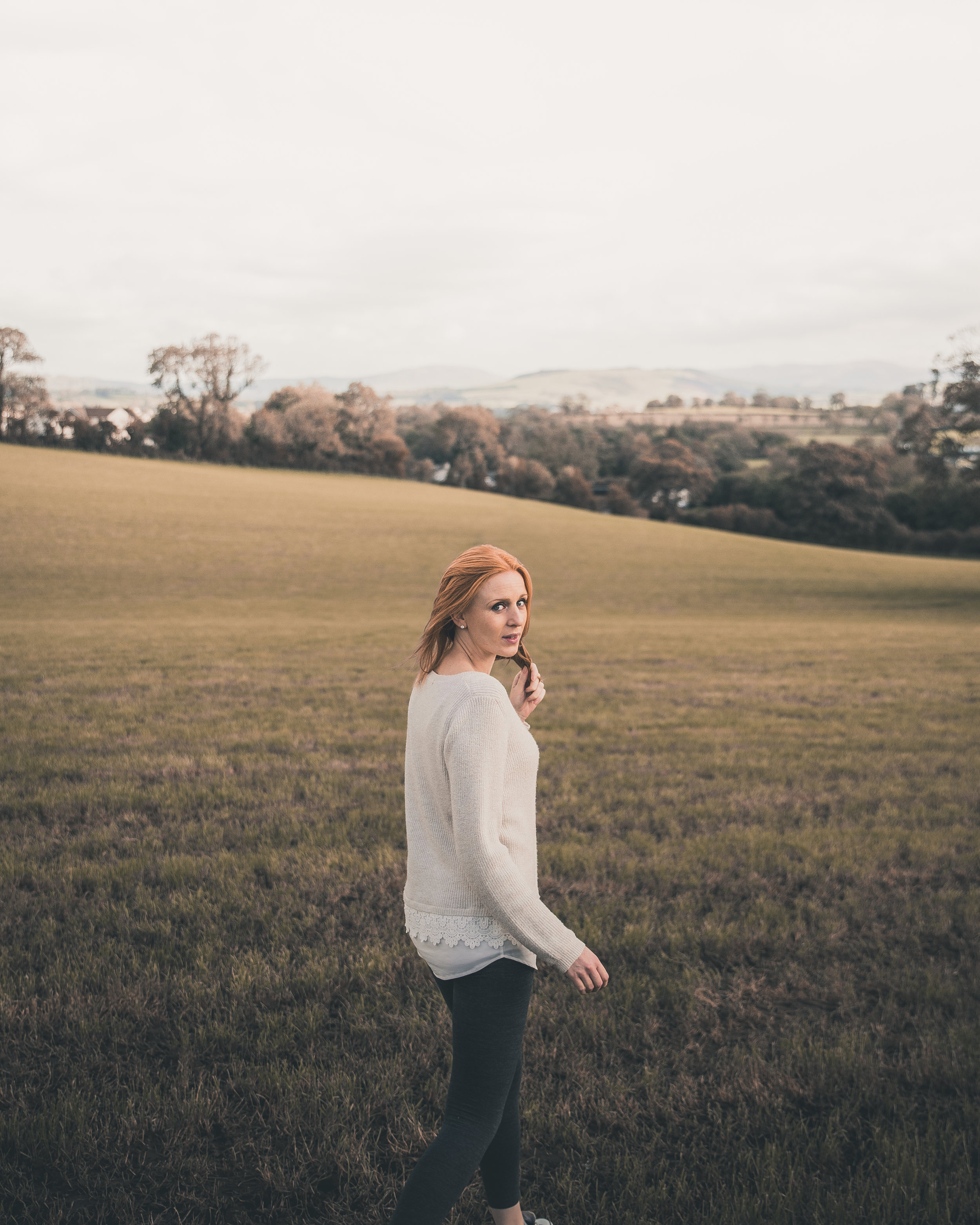 Plenty of fields to choose from for portraits within the Lake District, Cumbria.