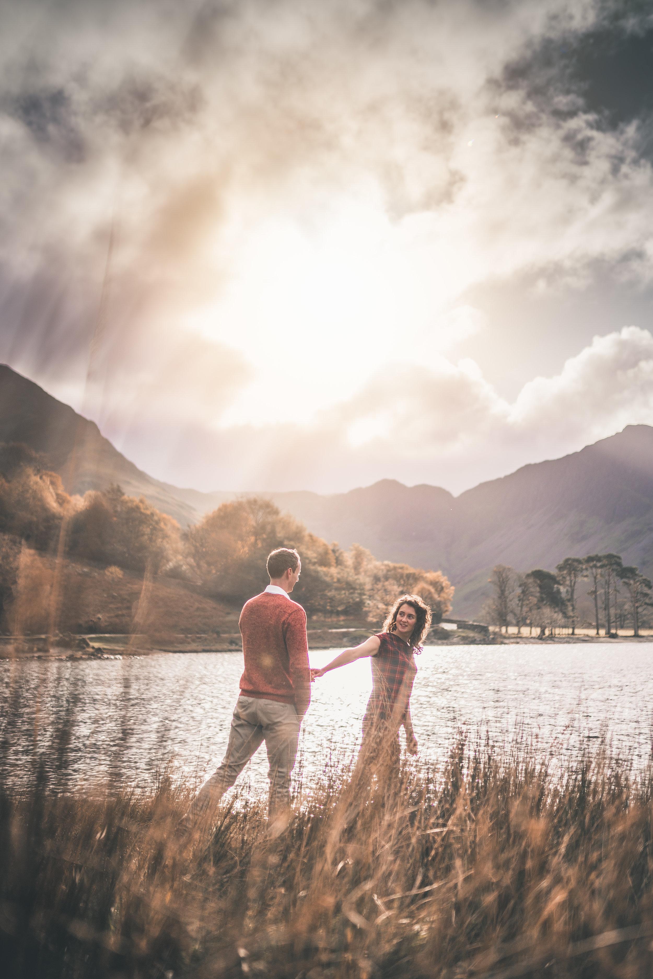 Portrait photography, Lake District National Park