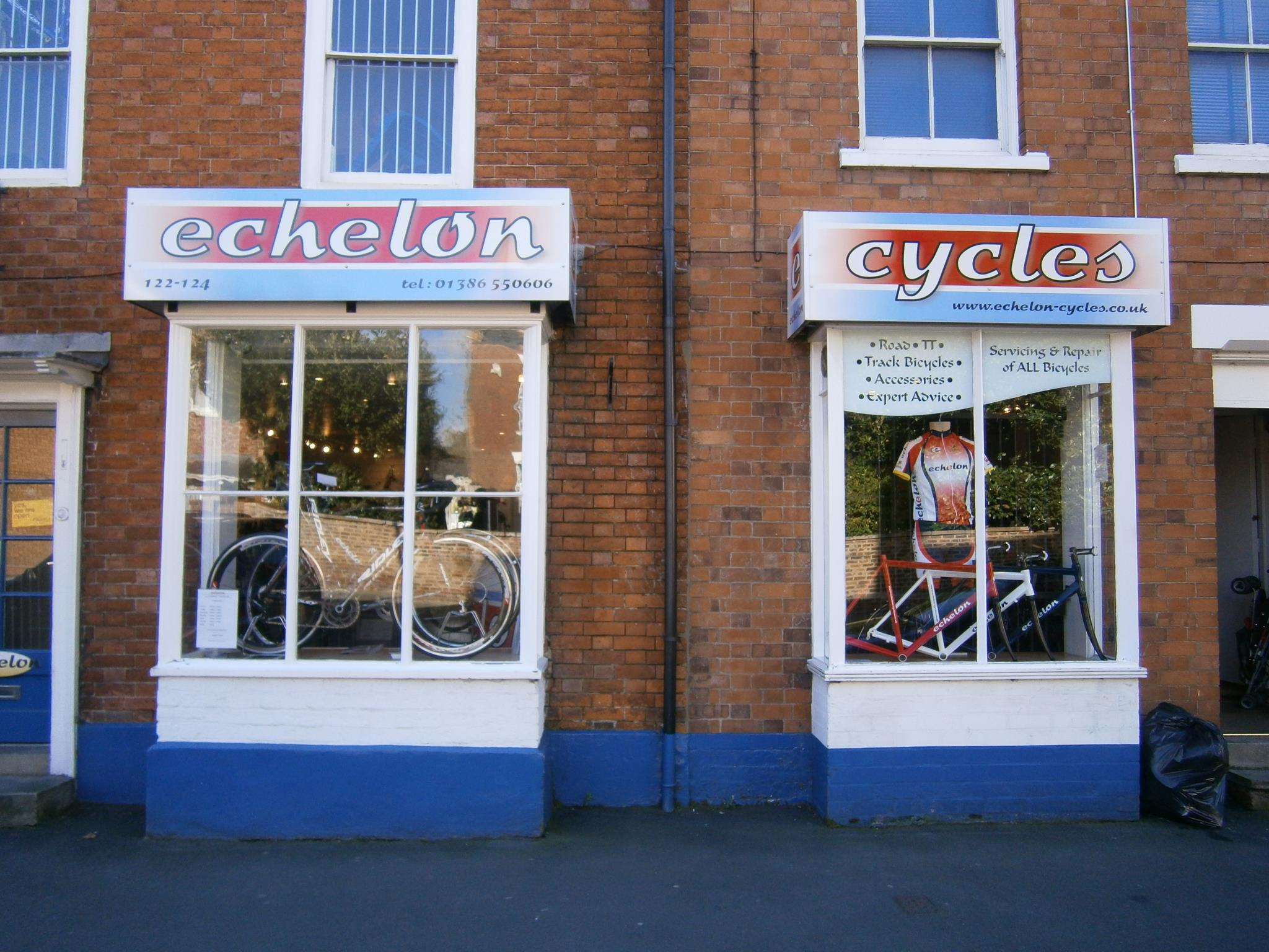 Echelon Cycles in Pershore - Photograph rights belong to Echelon Cycles