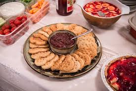 Finger Food Fellowship - Join us for a light snack and fellowship after the service