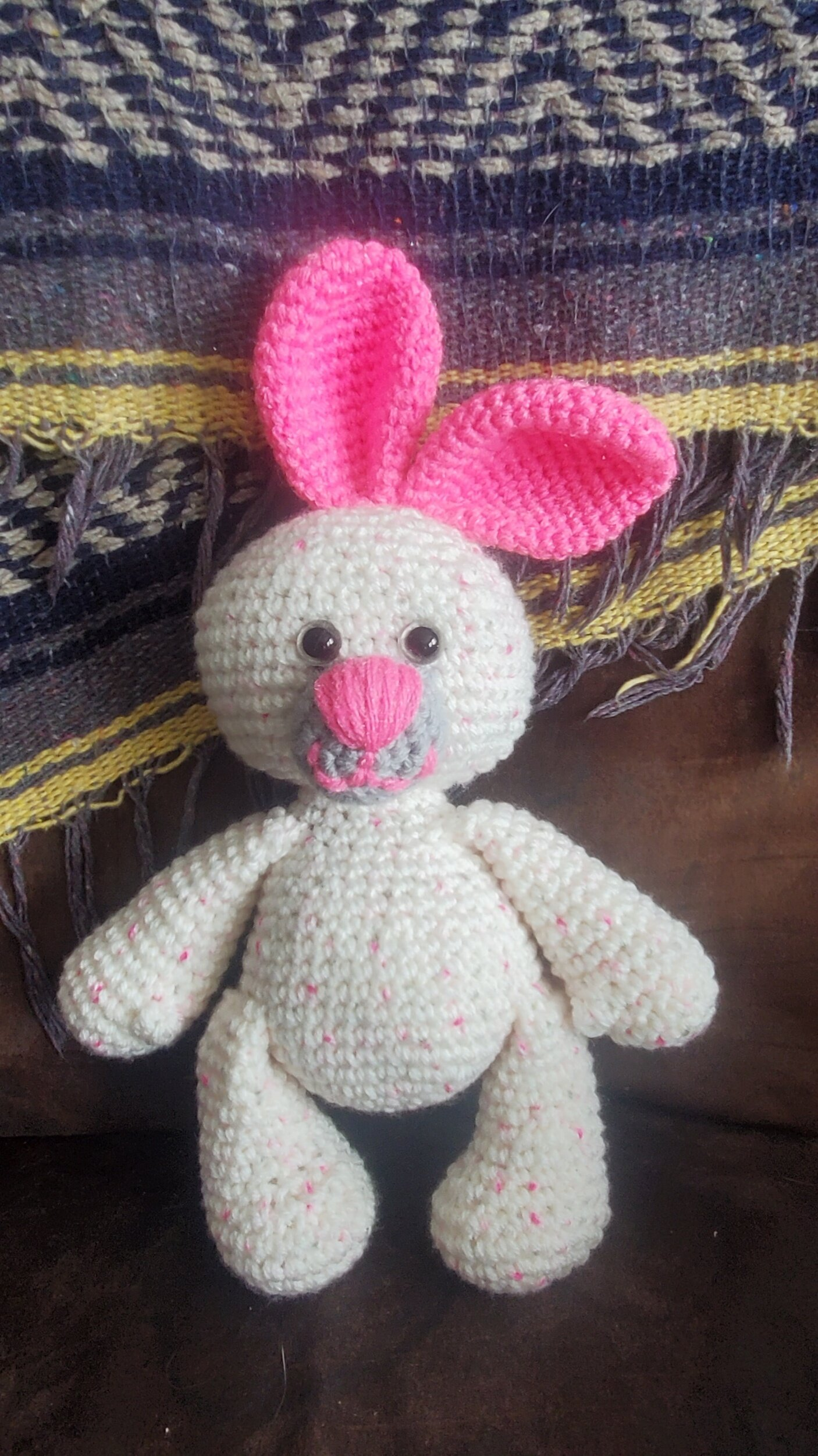 Small teddy bear amigurumi keychain crochet - Amigu World | 1778x1000