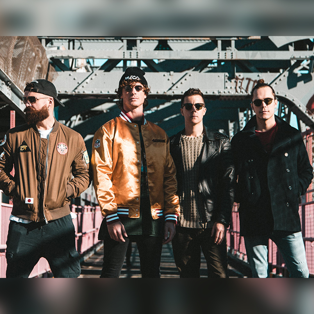 """DON BROCO - Don Broco is a British rock band formed in Bedford, England in 2008. The band consists of Robby Damiani (Lead Vocalist), Simon Delaney (Guitarist), Matt Dennelly (Drummer/ Vocals), Tom Doyle (Bass Guitarist), and Asam Marc (Key Boardist).They've released two studio albums (Priorities, 2012 and Automatic, 2015) and 4 EP's. Priorities reached 25th, while Automatic was 6th on the UK Billboard Charts. The band released a single, """"You Wanna Know?"""" in the summer of 2013, and once more, hit the Top 40 of UK Singles Chart. As of to date, """"You Wanna Know?"""" has reached 3,475,728 views on YouTube."""