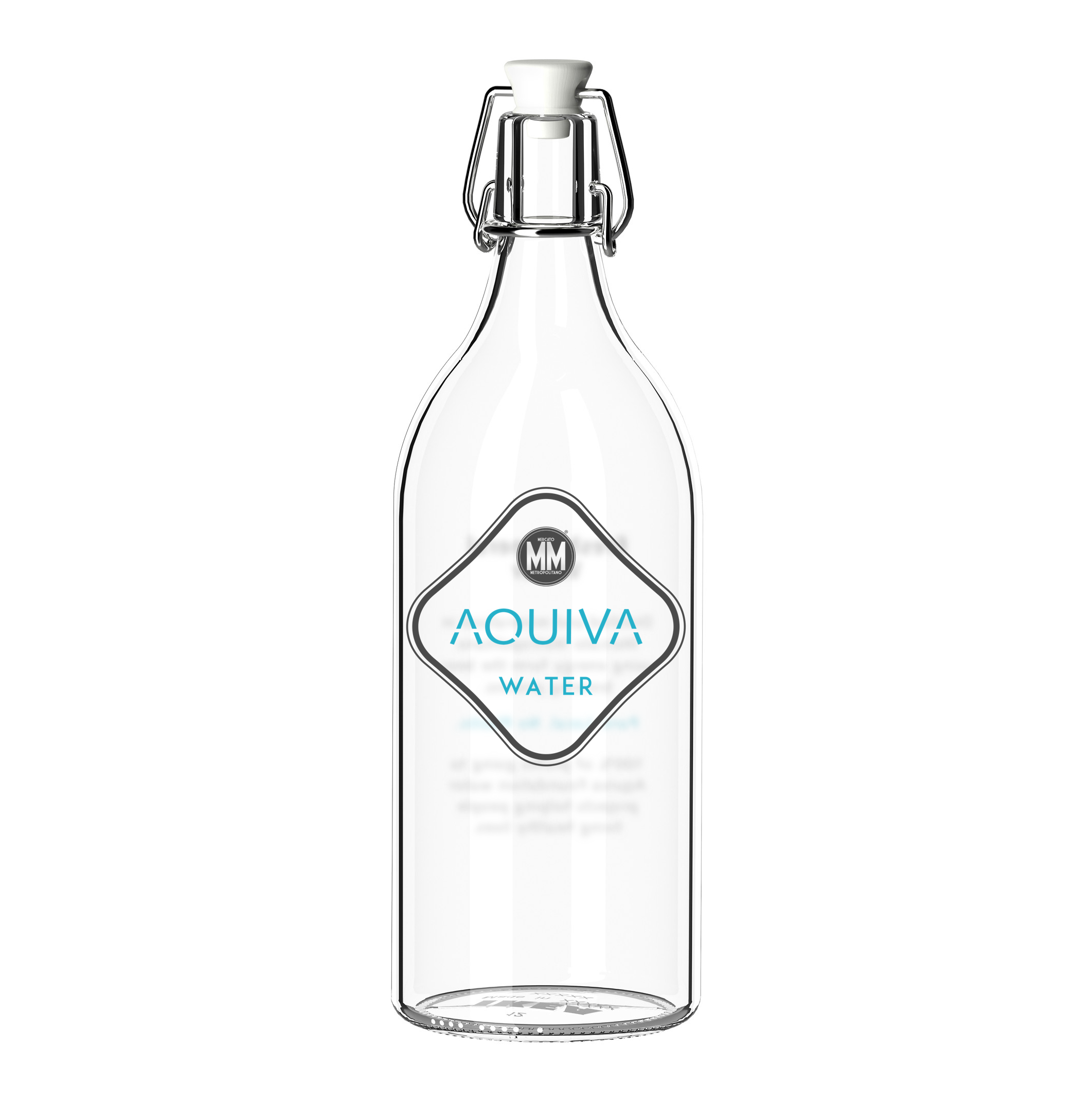 Mineralisation - Reusable glass bottles