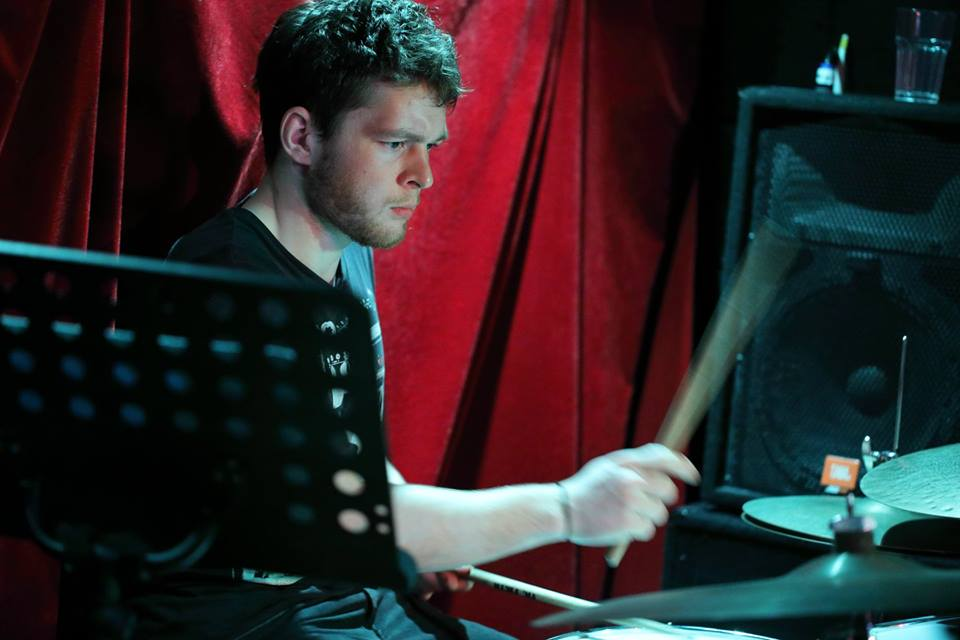 Casper Haslam - Percussion. It is widely believed he was born with cuban drum sticks in his hands.