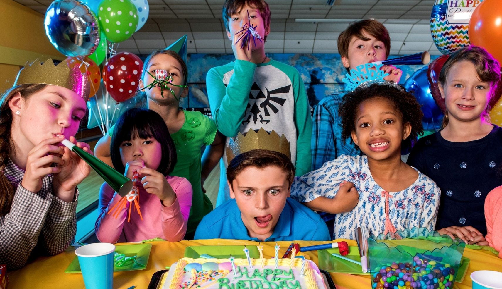 Birthday Parties - If you're looking to throw a party to remember, give your guests something they will never forget!