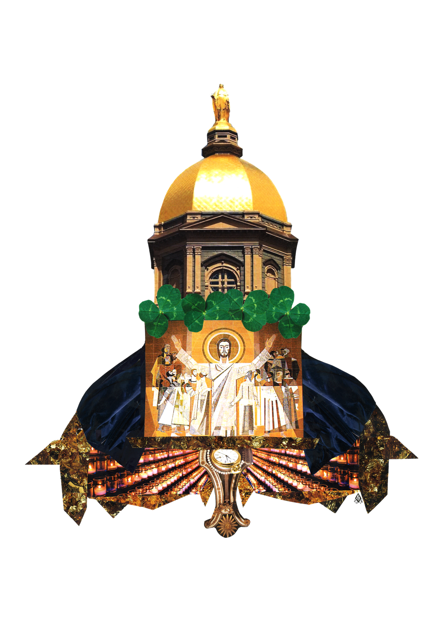 Tradition, Notre Dame, 11x14, 2018