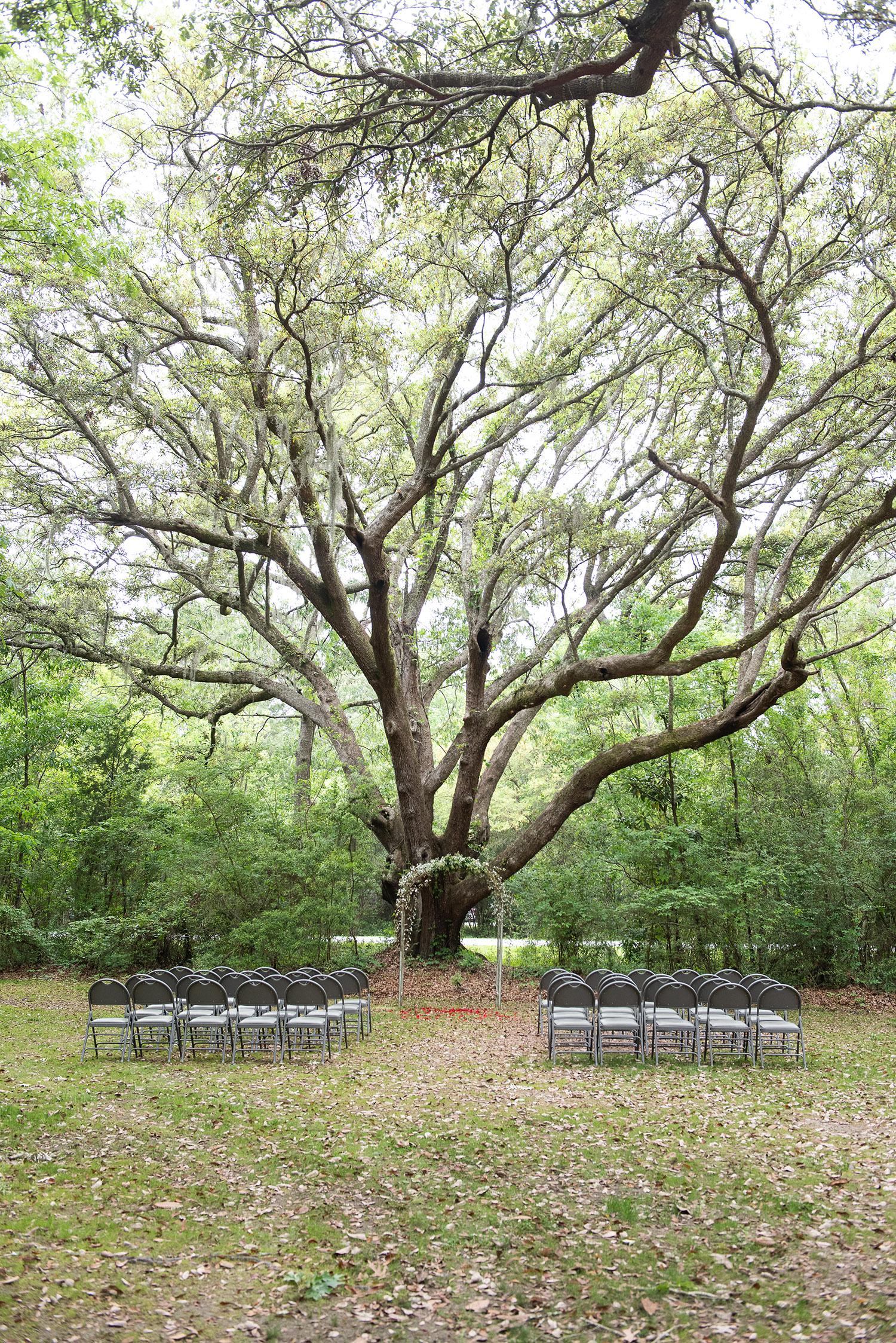 Charleston Elopement James Island County Park