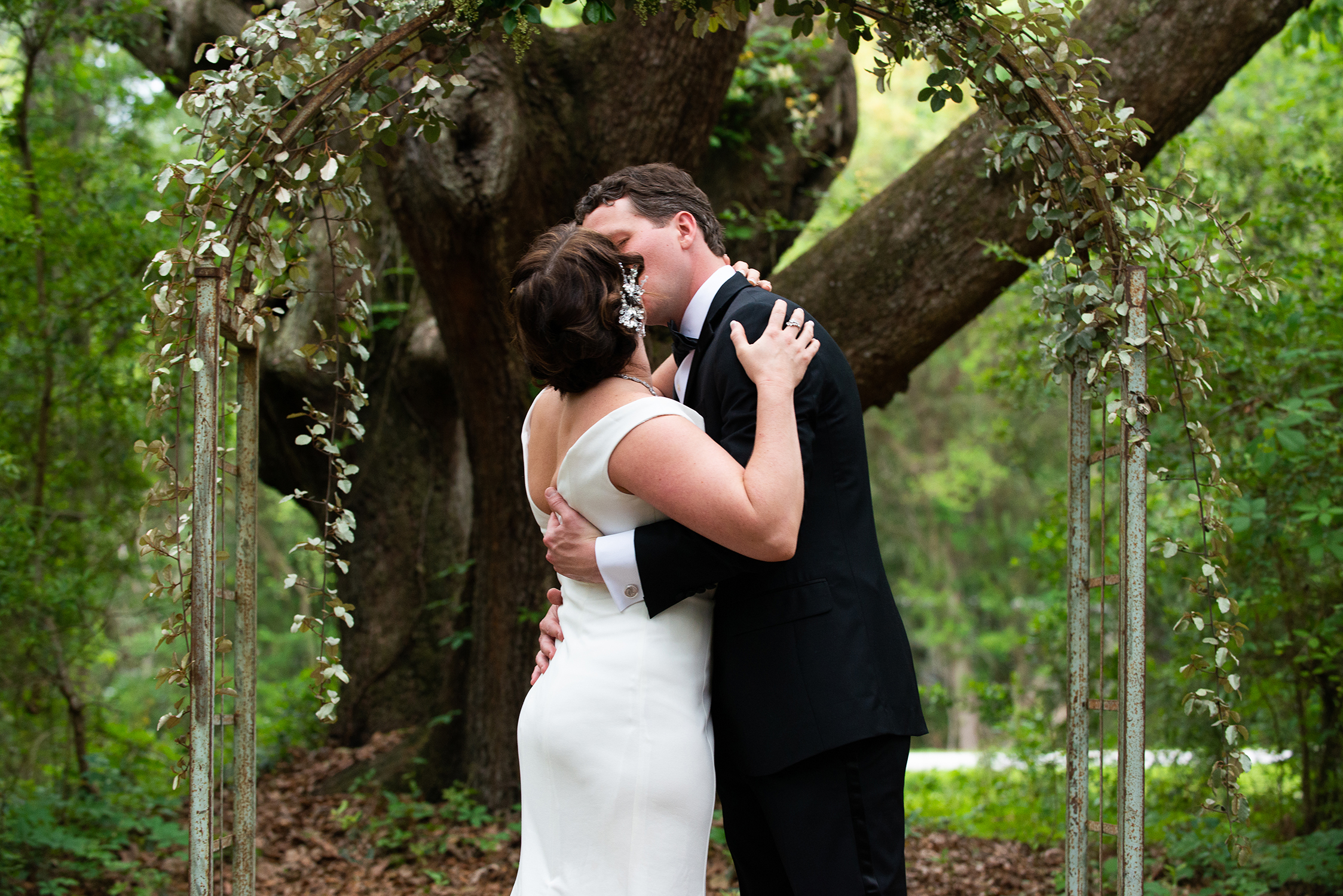 Charleston Elopement James Island County Park