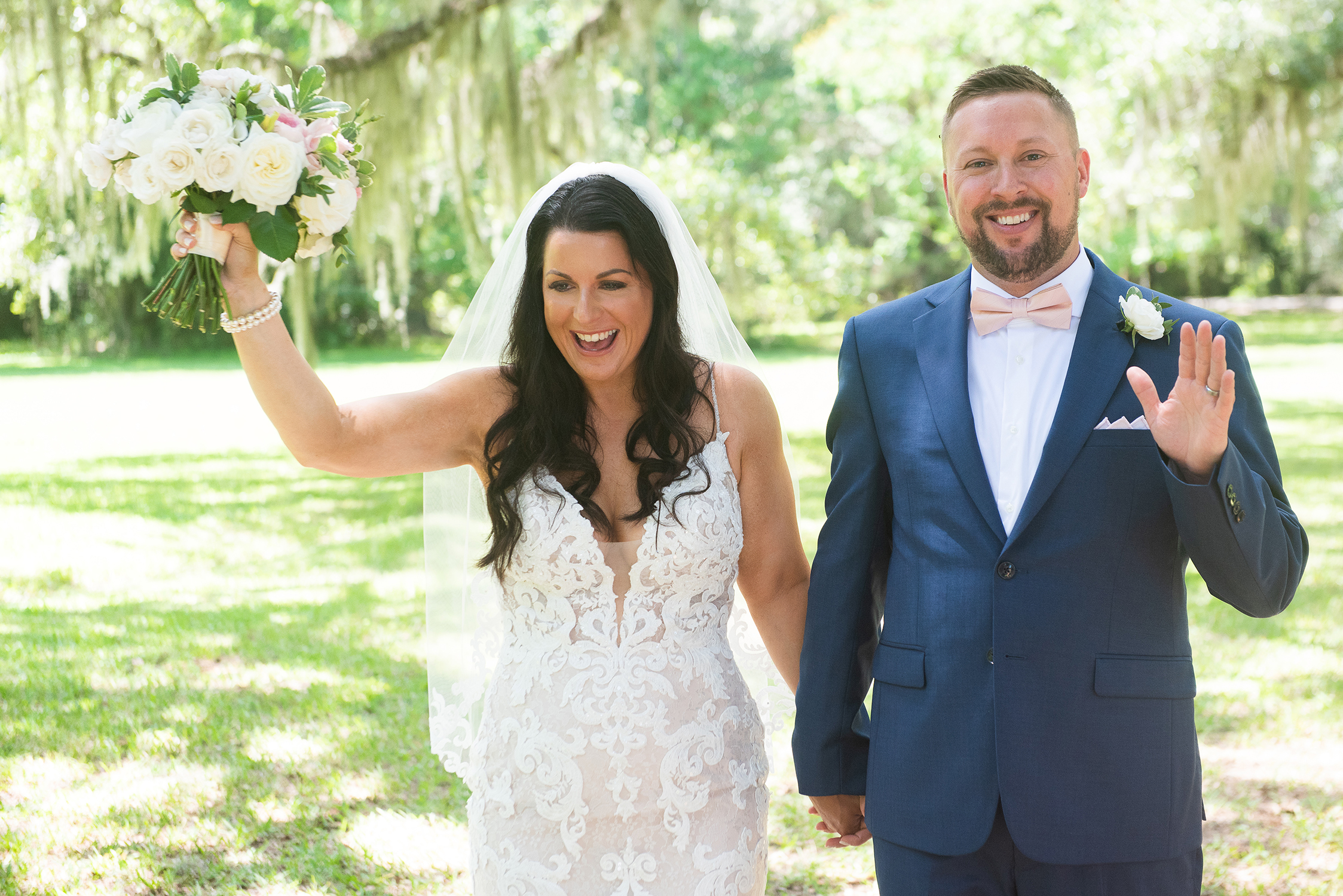 Magnolia Plantation Elopement by Reese Moore Weddings