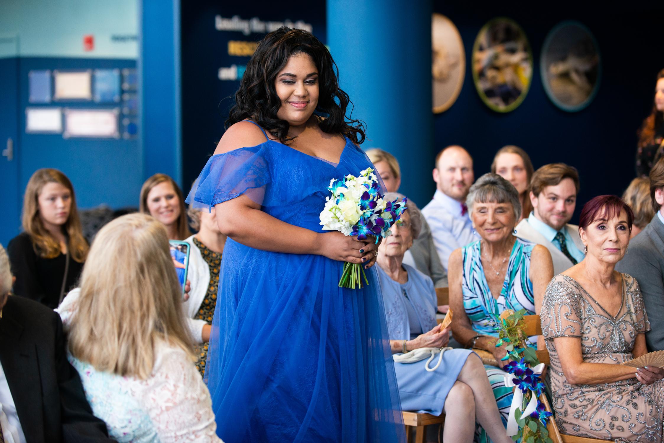 Charleston, SC Aquarium Wedding by Reese Moore Weddings