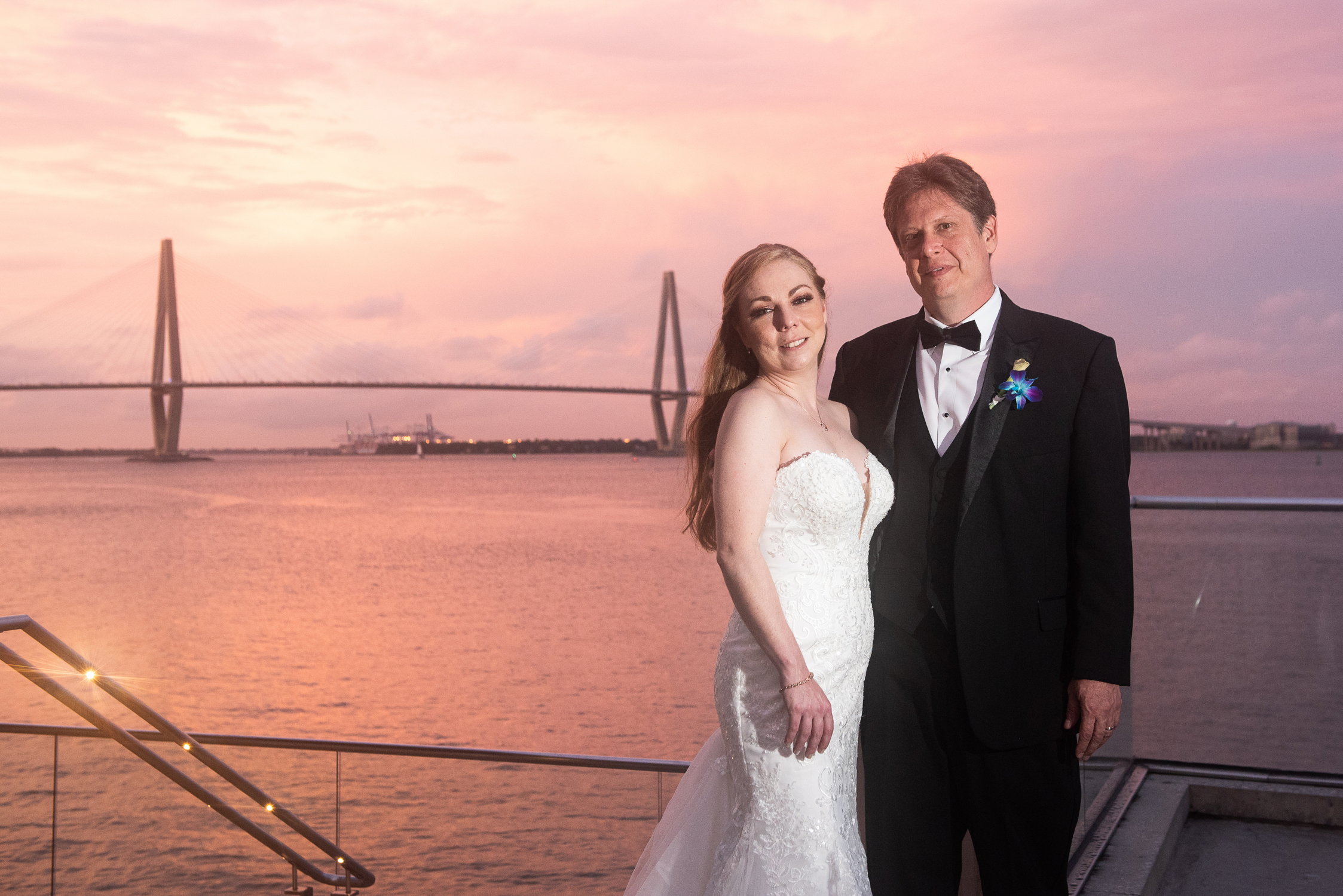 Charleston, SC Aquarium Wedding by Reese Moore Weddings