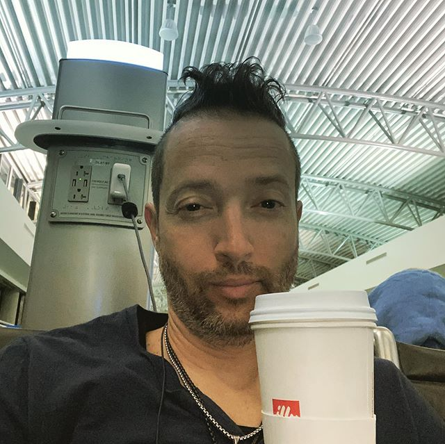 """The evolution of my #earlymorning #coffee dopeness... ... another dark morning voyage to #tampainternationalairport in search of my traveling companion """" @illy_coffee """" ... ... #summitla19 #summitla  HERE I COME 🔥  #ignite  #getturnedon  #expandprobability  #experienceengineering  #soundsessions  #thebigturnonpodcast  #comingsoon  #love  #1111 ༀ #समिन्धे सत्य"""