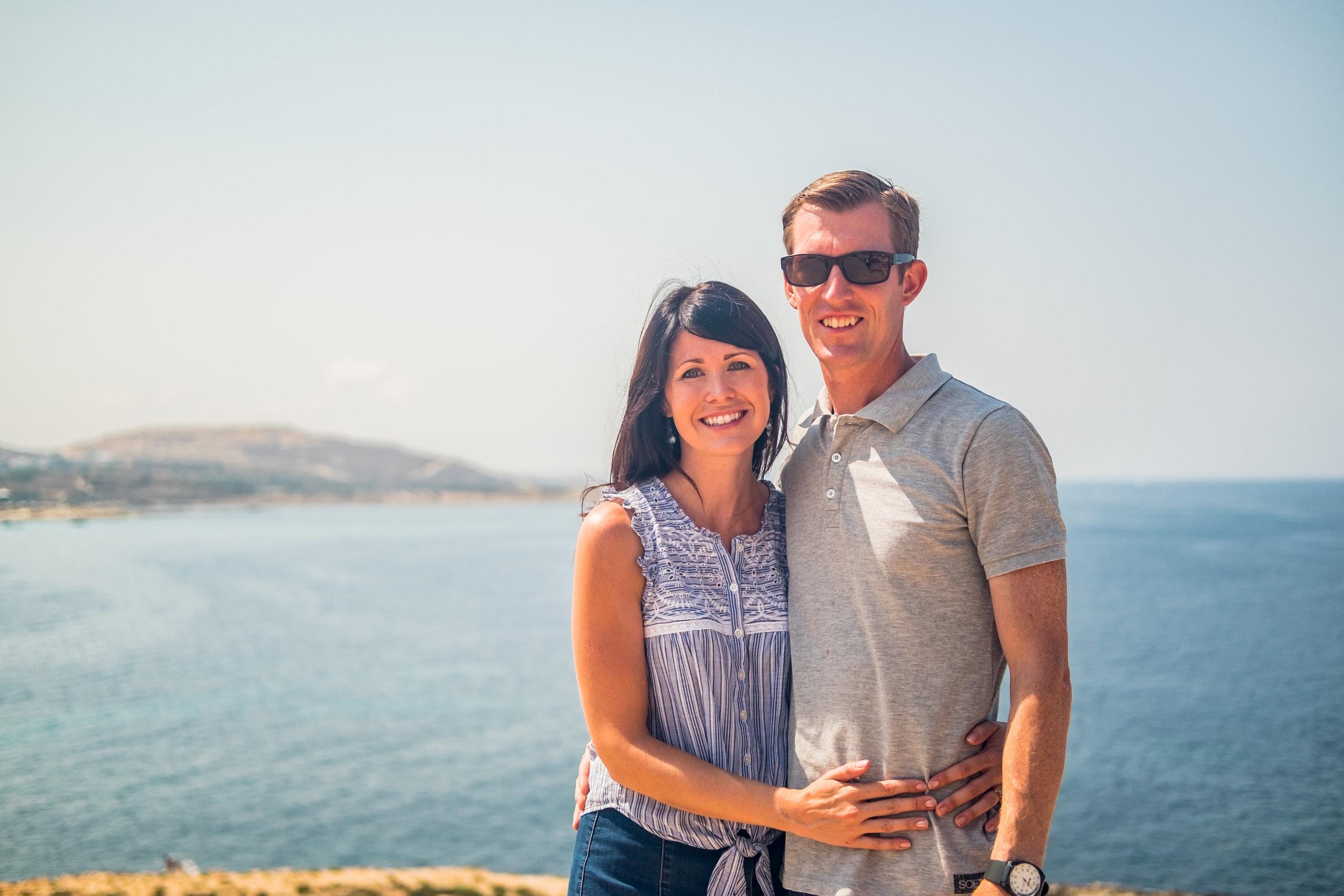 Josh and Erica Burrill -