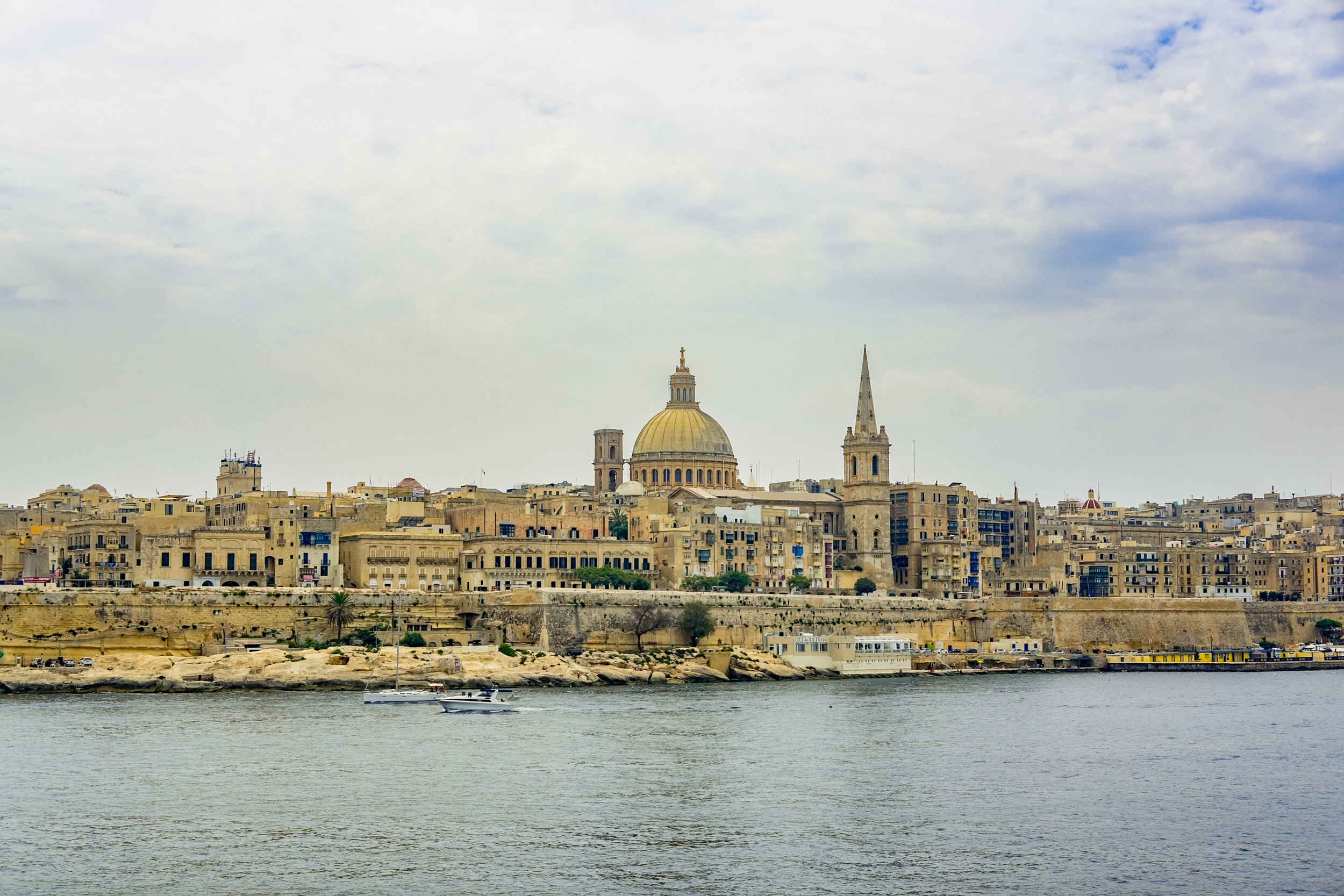 Valletta - The capital of Malta is Europe's smallest at only .3 square miles.