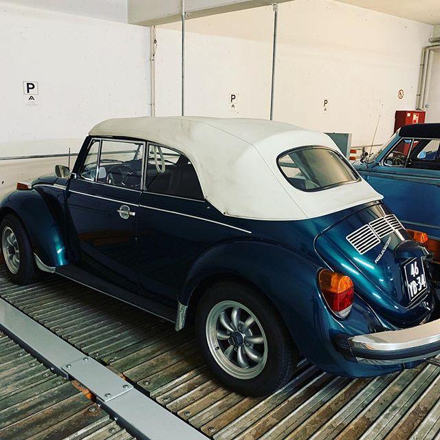 #cabrio 💕 in unserer Tiefgarage