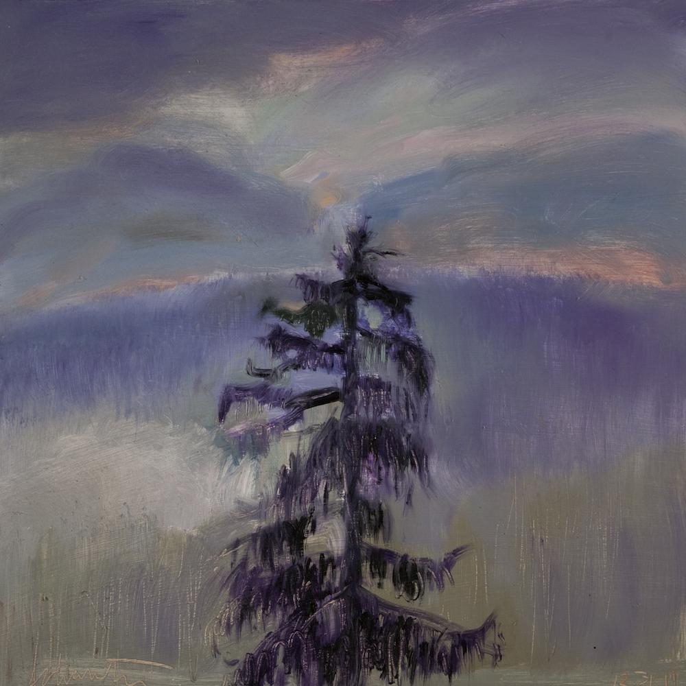 Lone Pine Dusk