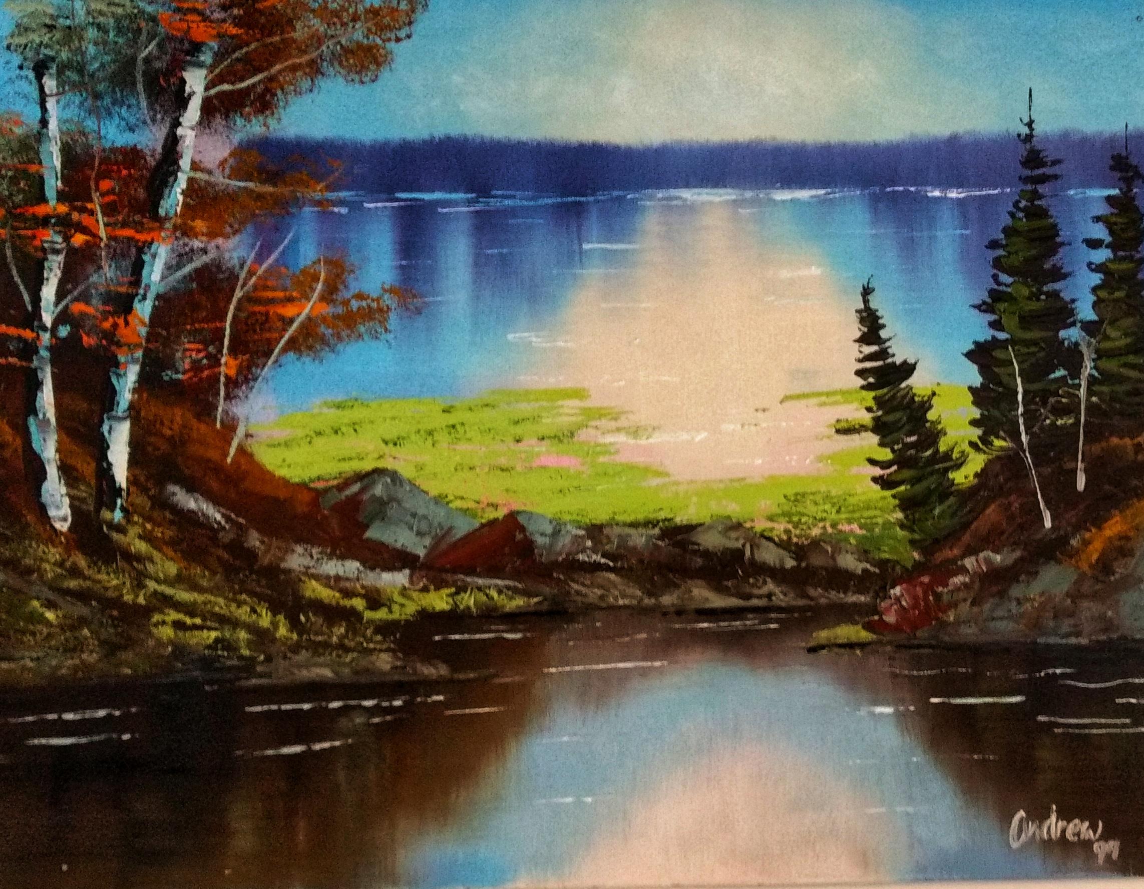 Landscape 2 - Oil