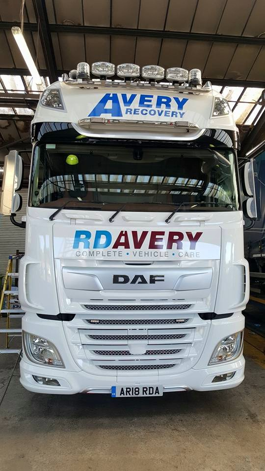 Our brand new 2018 DAF wrecker