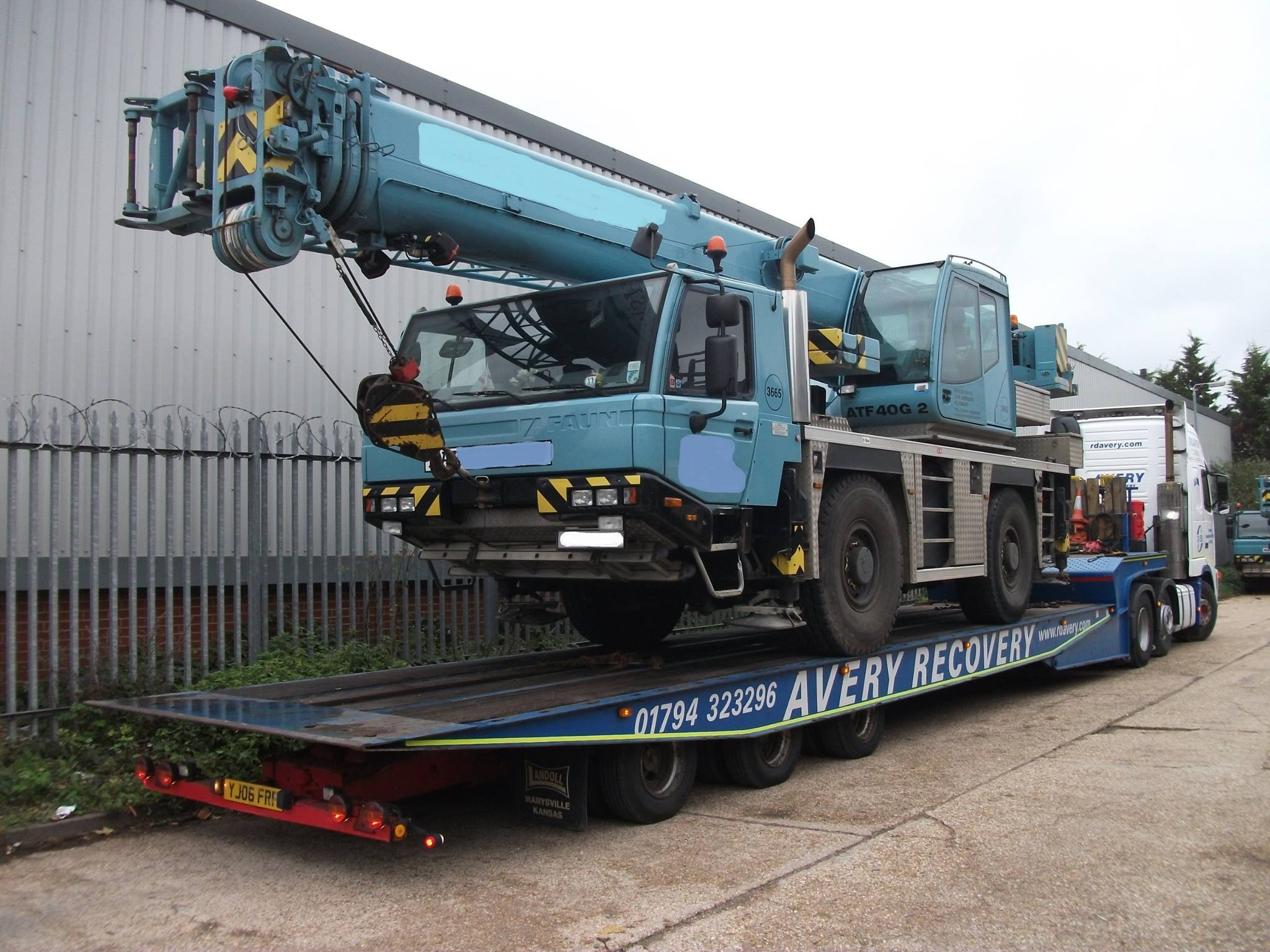 Heavy Vehicle Recovery - We regularly recover heavy goods vehicles including lorries, plant, buses and coaches from road or off-road situations.