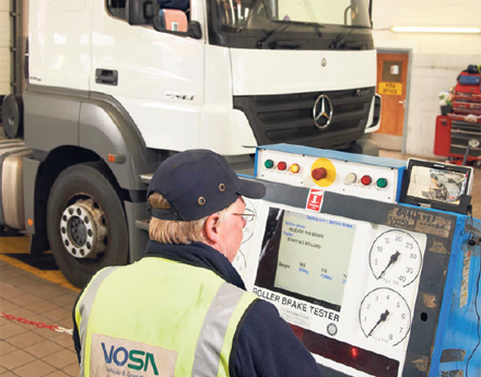 HGV PRESENTATION FOR TEST - After preparing your vehicle for testing, we will present it to an approved VOSA test centre.