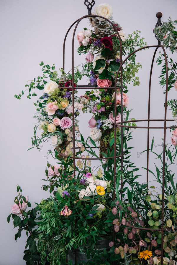 RHS Hampton Court 2018 for  The Real Flower Company  photo credit:  Flowerona