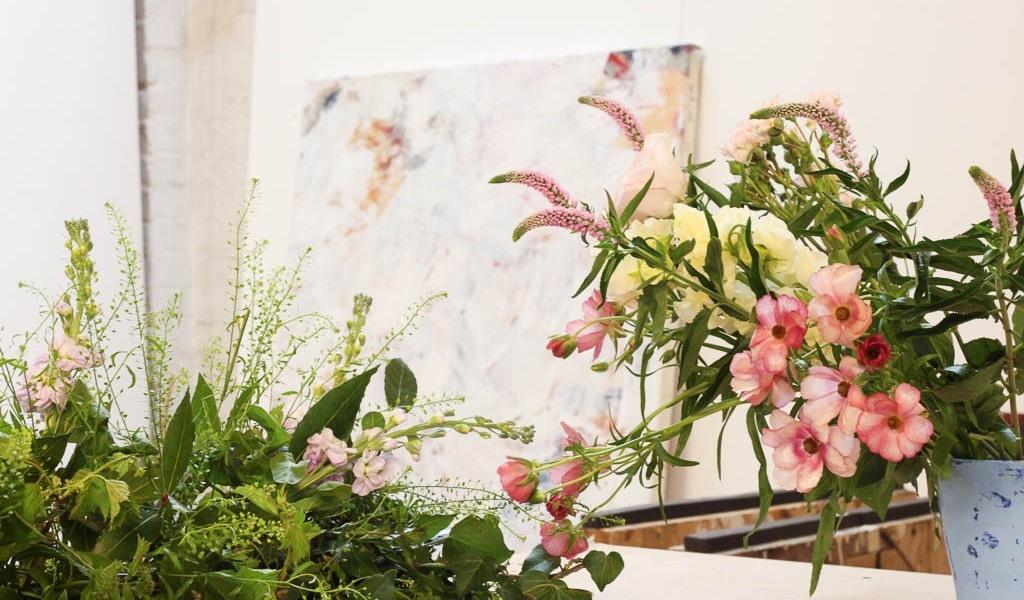 Work in progress Borrowing  Alice Hartley's  artist studio 2018