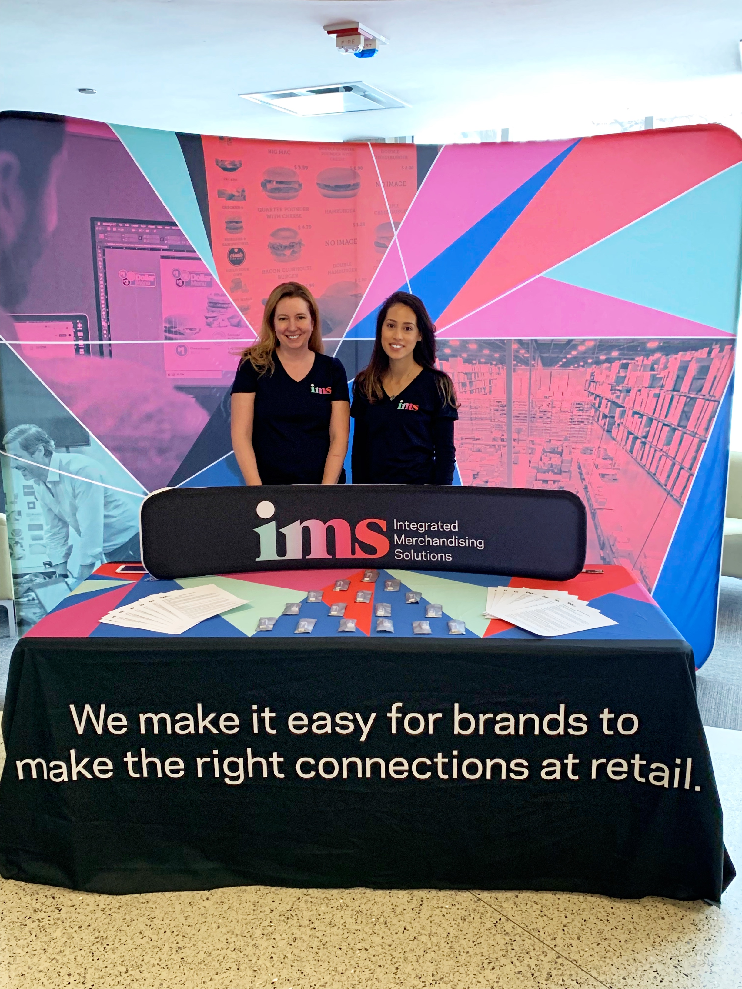 IMS connected with the next generation of job seekers at UIC Branding Days. -