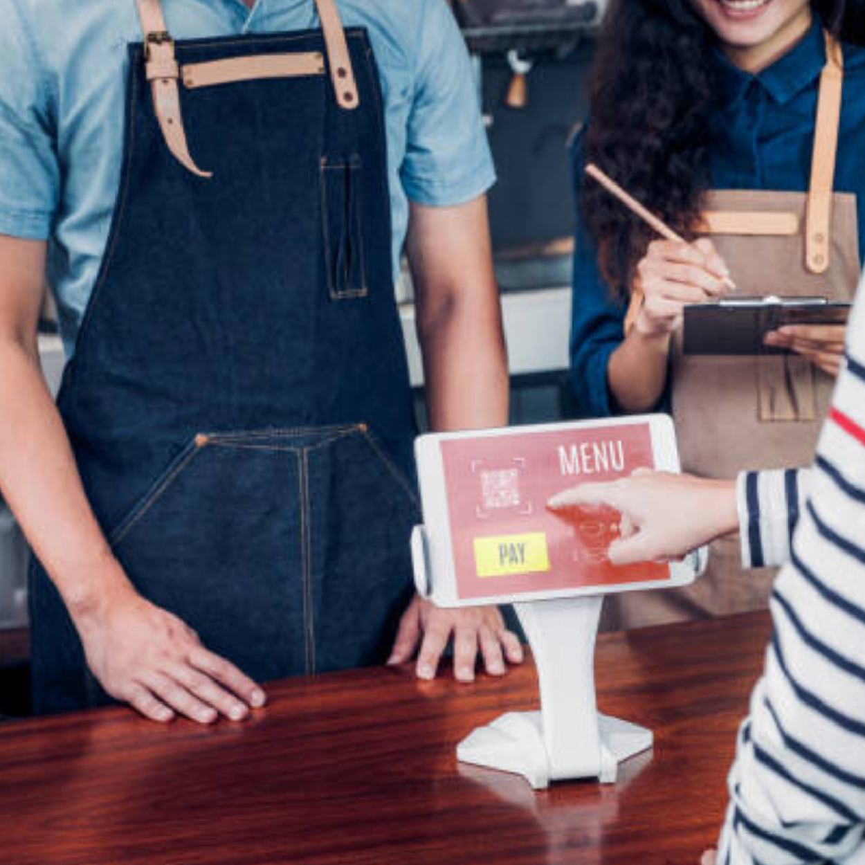 Retailers are constantly looking for new ways to connect digitally with customers both on-site and through data -