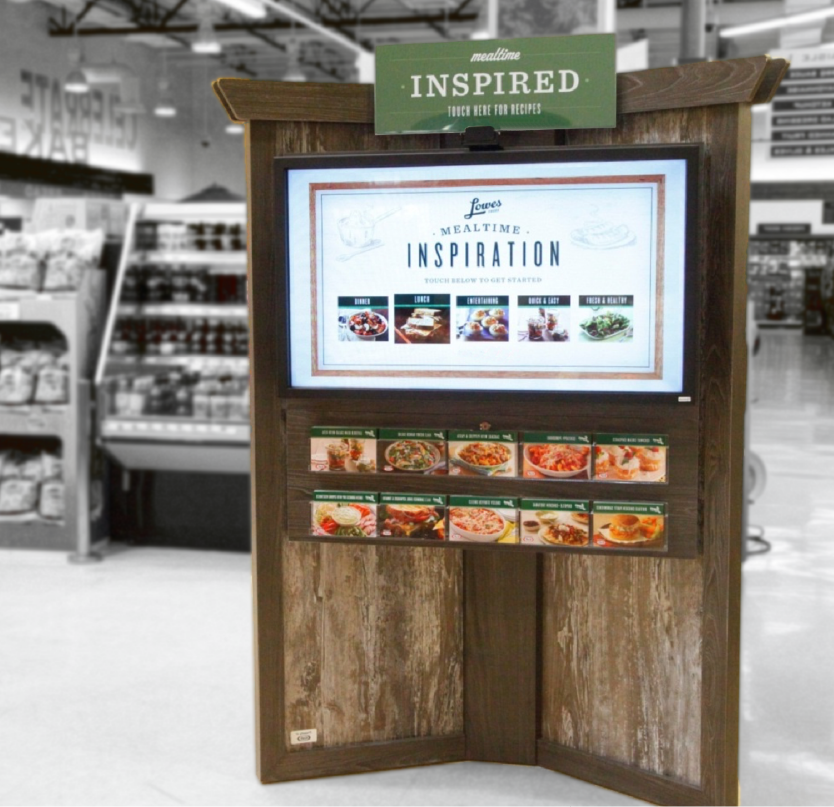 Kiosks in action - IMS affects 6% lift for CPG giant. -