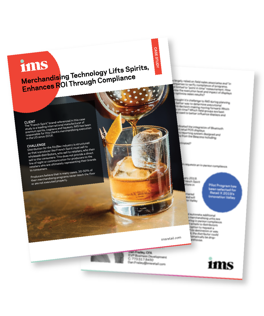 Take a deeper look into how IMS MerchTech compliance solutions are helping an  international Alc/Bev client improve compliance rates of in-store POS displays  through beacon technology.