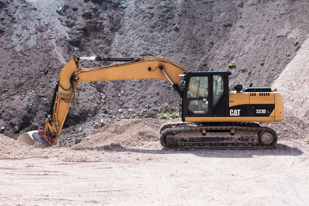 CAT 320 DLRR Kettenbagger—25 to