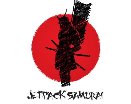 Jetpack Samurai Logo