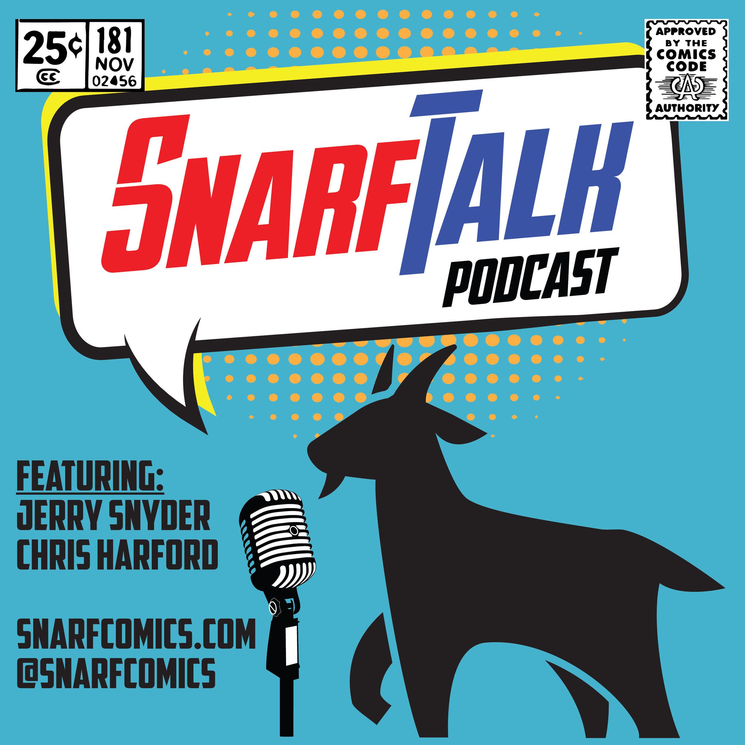 Snarf Talk Podcast Logo