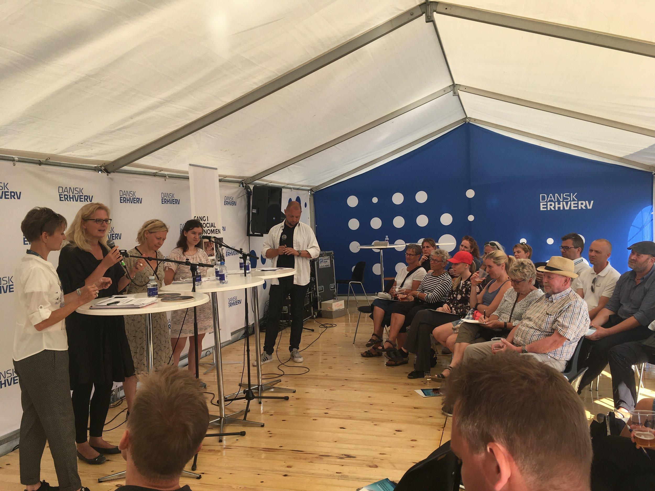 """Debat: """"Gang i Socialøkonomien"""". Arrangeret af Selveje Danmark"""