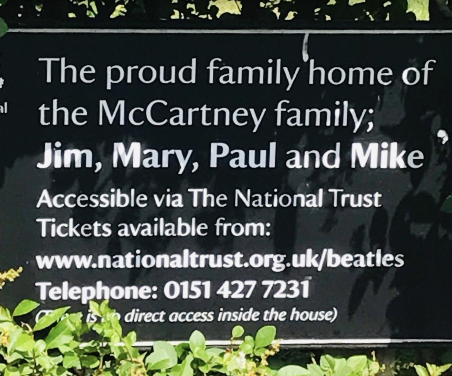 Home of Paul McCartney