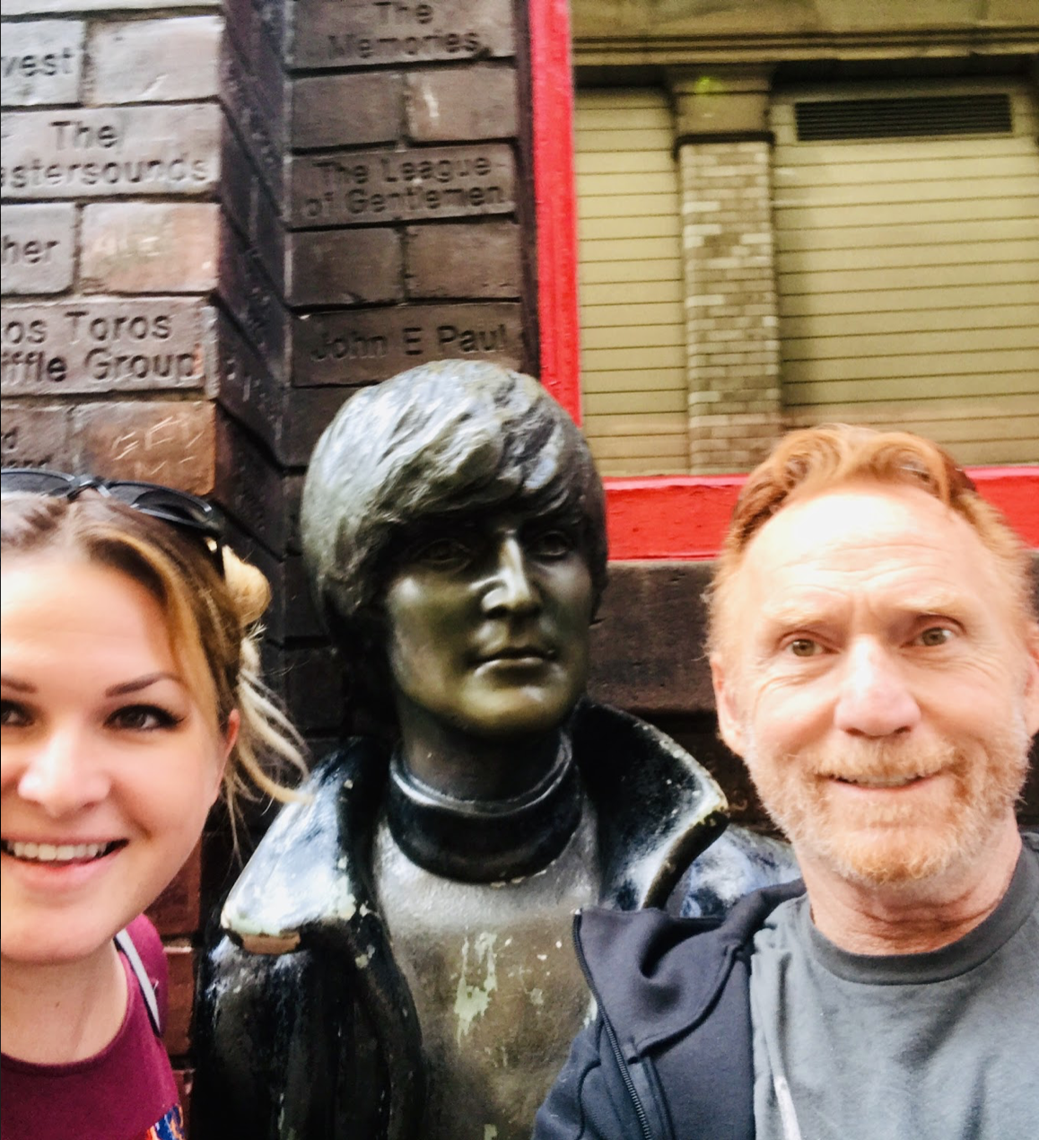 Amy and Danny Bonaduce The Cavern Liverpool