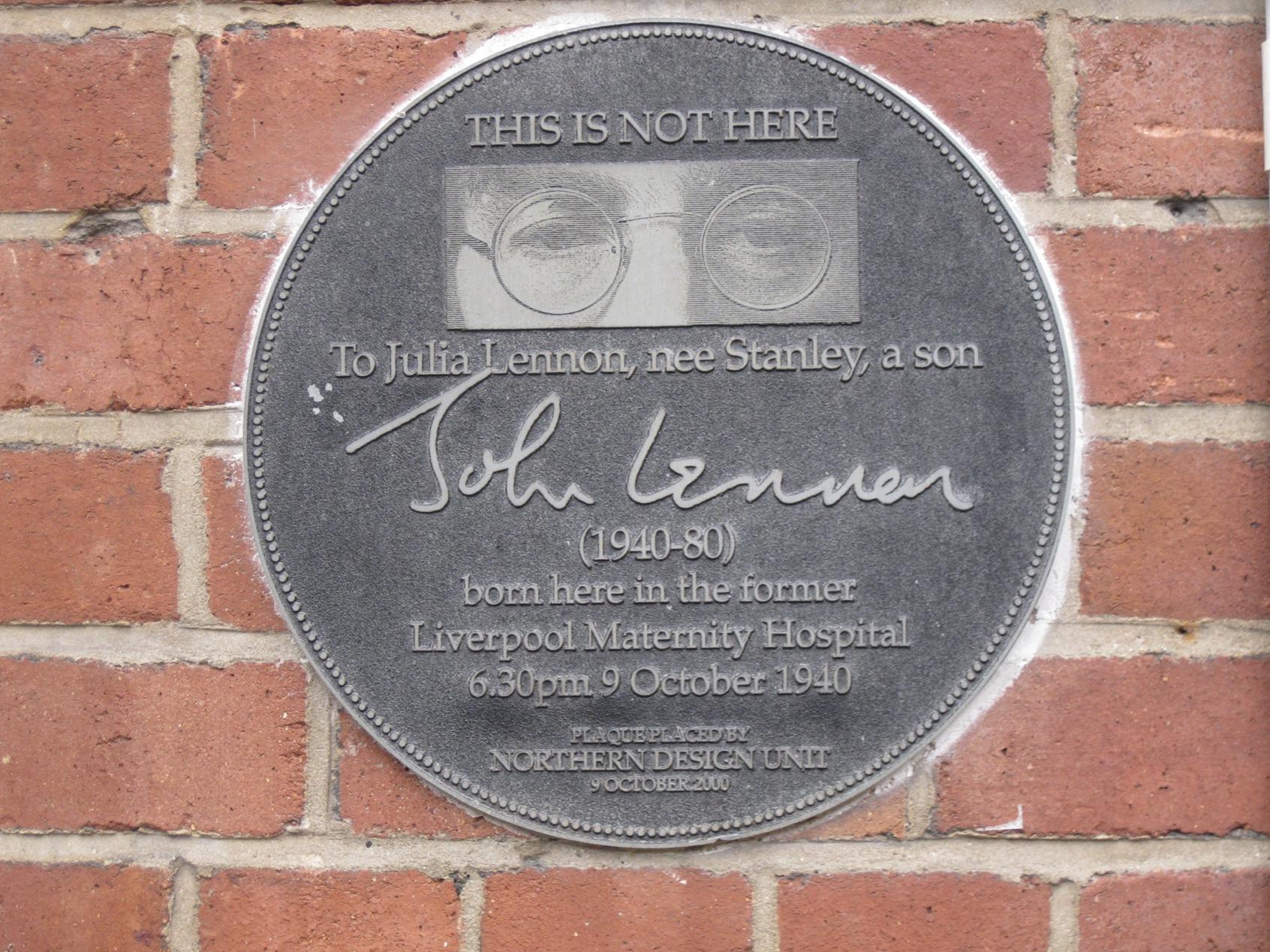 Where John Lennon was Born