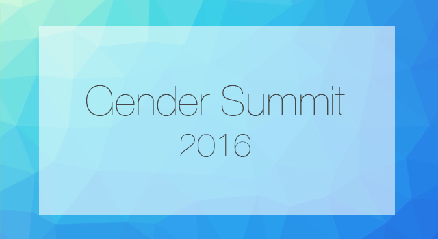ATOMIC RADIATION: MORE HARMFUL TO GIRLS AND WOMEN   Presented at Gender Summit 9, Brussels 2016