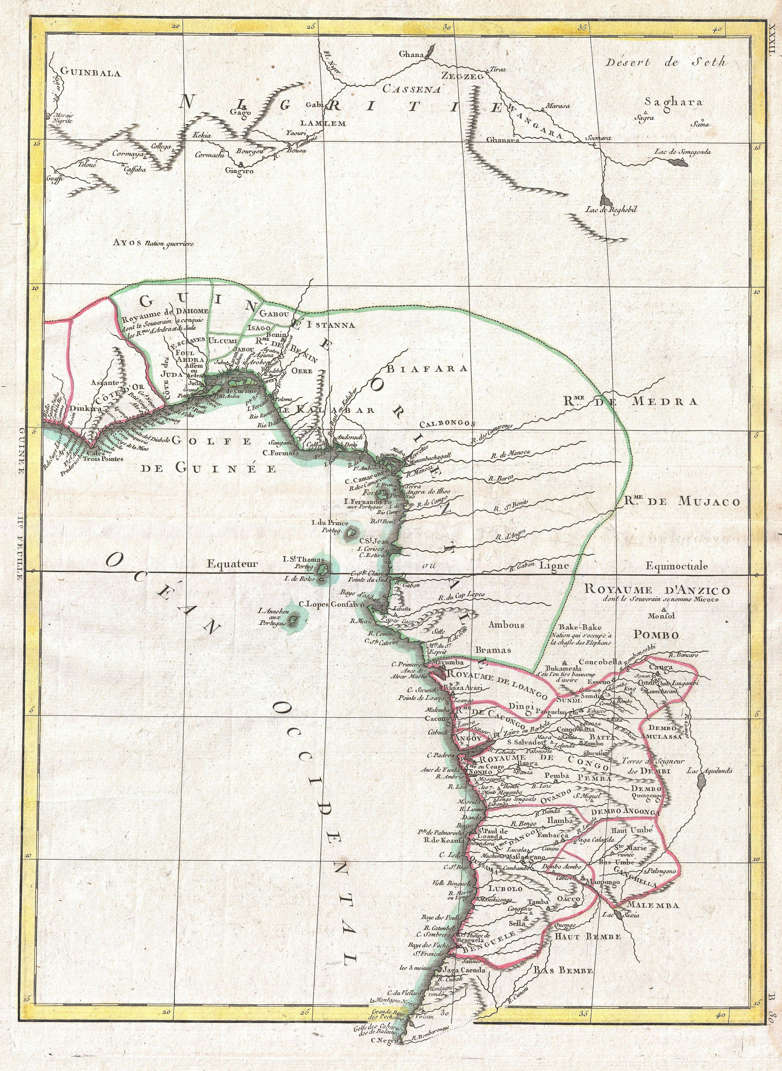 FIgure 3: Upper and Lower Guinea, West Africa