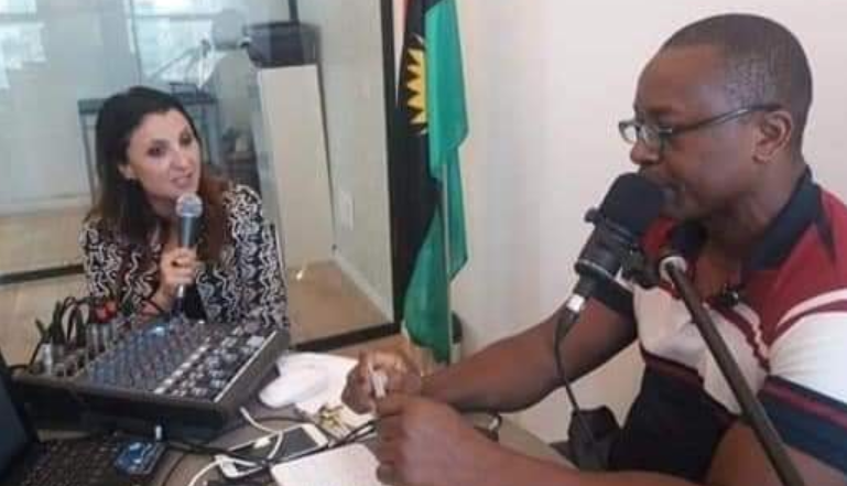 Deputy Mayor of Jerusalem, Flair Hassan Nachum speaks with Radio Biafra's Ikechukwu Onuoha