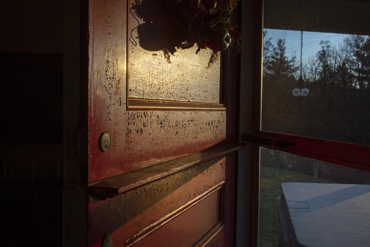 Autumn Light, Door  ©Emily B. Belz