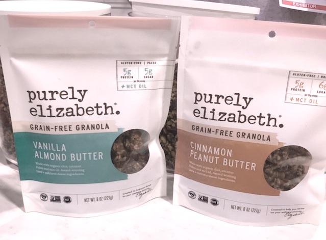 Purely Elizabeth make delicious grain-free granola and bars