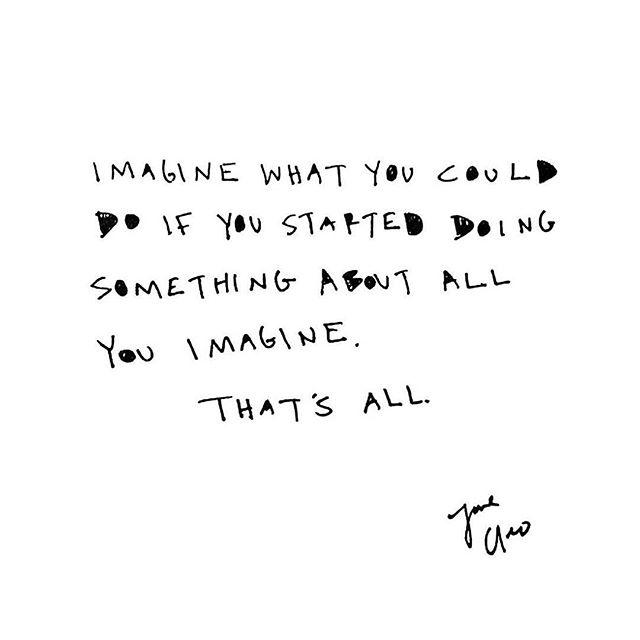 imagine that ❔